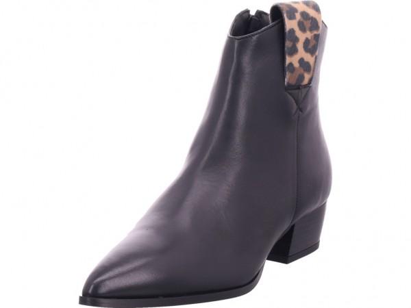 cafenoir Damen Stiefel Stiefelette Boots elegant schwarz HLD442