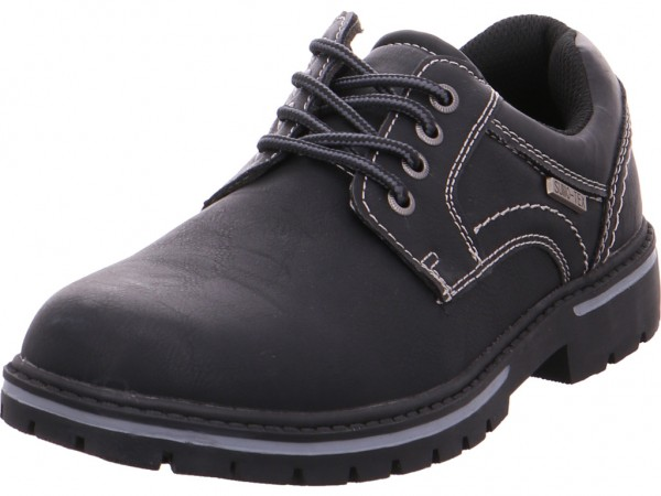 Pep Step 1614701,black Herren Schnürschuh Halbschuh sportlich Sneaker schwarz 1614701/00001