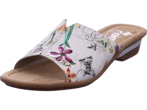 Rieker Damen Pantolette Sandalen Hausschuhe Clogs Slipper Sonstige 63459-90