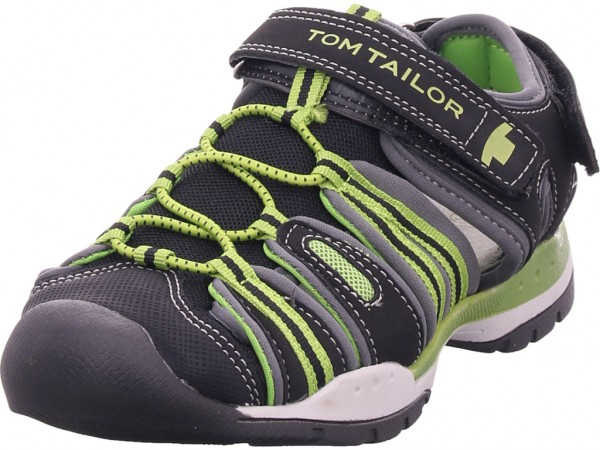 Tom Tailor Jungen Sandale Sandalette schwarz 6970901