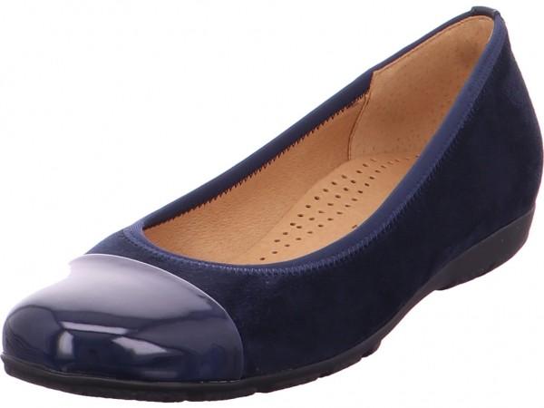 Gabor Damen Ballerina blau 34.161.46