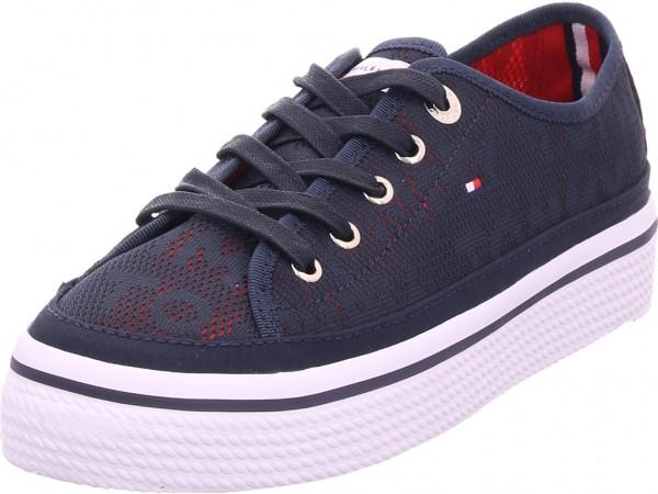 Tommy Hilfiger Damen Sneaker blau FW0FW04071