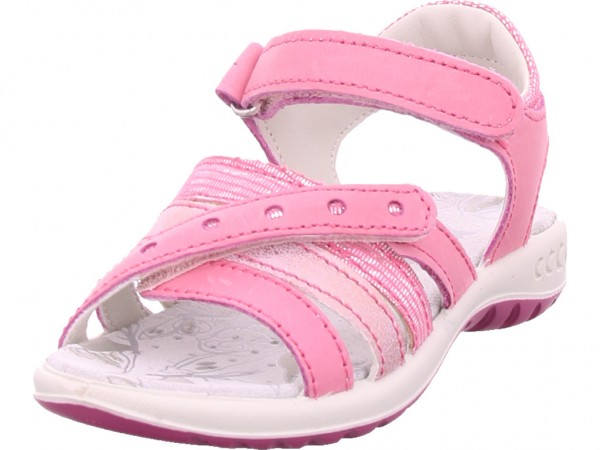 imac Mädchen Sandale Sandalette Sommerschuhe rot 530970
