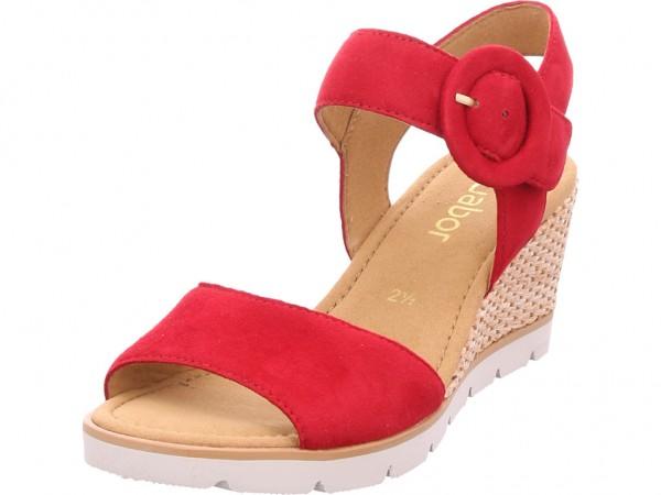 Beförderung limitierte Anzahl Luxus Gabor Damen Pantolette Sandalen Hausschuhe rot 25.754.15