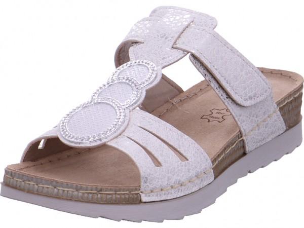 BOLD Damen Pantolette Sandalen Hausschuhe Clogs Slipper weiß OF01-JL02