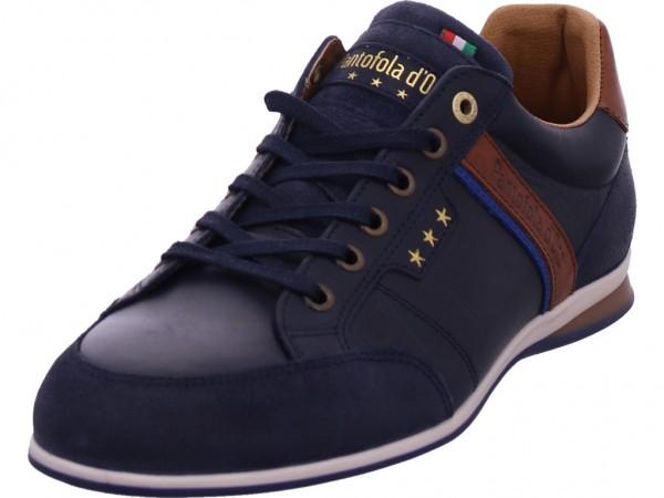 Pantofola d´Doro Roma Uomo Low Damen Schnürschuh Halbschuh sportlich Sneaker blau 10201027