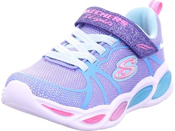 SKECHERS SHIMMER BEAMS - SPORTY GLOW Mädchen Sneaker blau 302042L PWMT