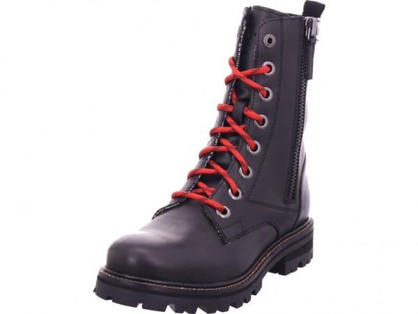 s.Oliver Da.-Stiefel Damen Winter Stiefel Boots Stiefelette warm Schnürer schwarz 5-5-25223-25/001-001
