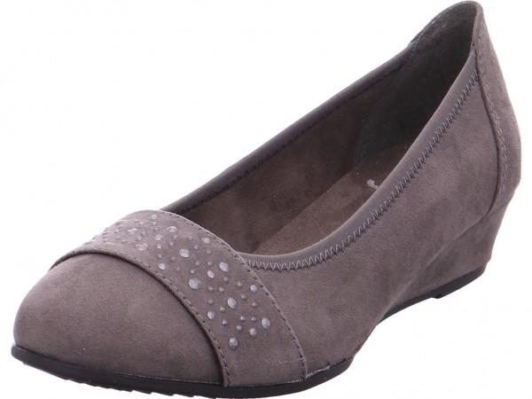 Jana Woms Court Shoe Pumps elegant Abendschuhe Party Ball grau 8-8-22260-21/206-206