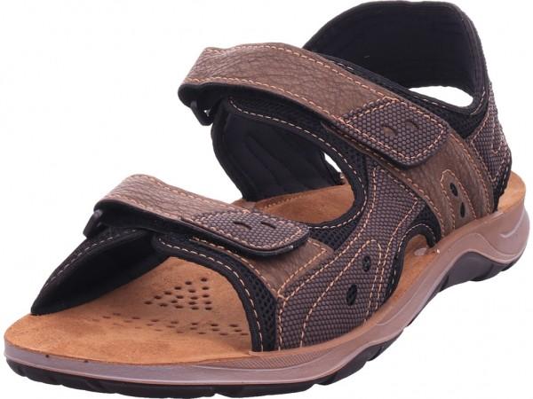 inblu Herren Sandale Sandalette Sommerschuhe braun TO07QJ02