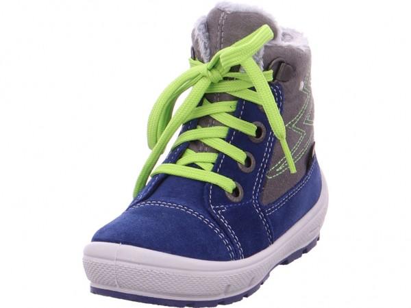 Legero Groovy,grau/blau Baby - Jungen Stiefel blau 3-09306-81