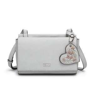 Tamaris Accessoires MILLA Crossbody Bag S Damen Tasche grau 2677191-204