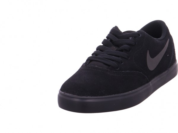 Bild 1 - nike Nike SB CHECK SUEDE Unisex - Erwachsene Sneaker schwarz