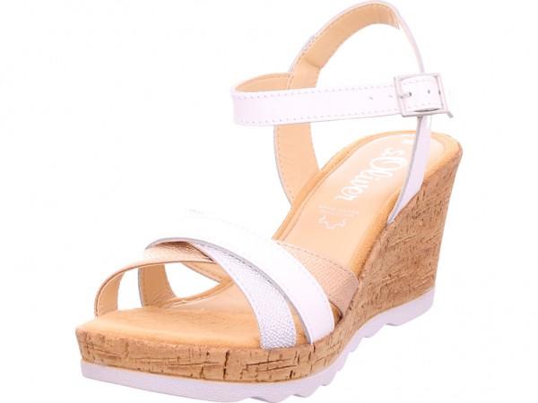 s.Oliver Woms Sandals Damen Sandale Sandalette Sommerschuhe weiß 5-5-28301-22/111-111