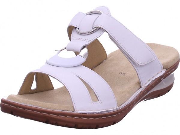 ara HAWAII Damen Pantolette Sandalen Hausschuhe Clogs Slipper weiß 12-27233-76