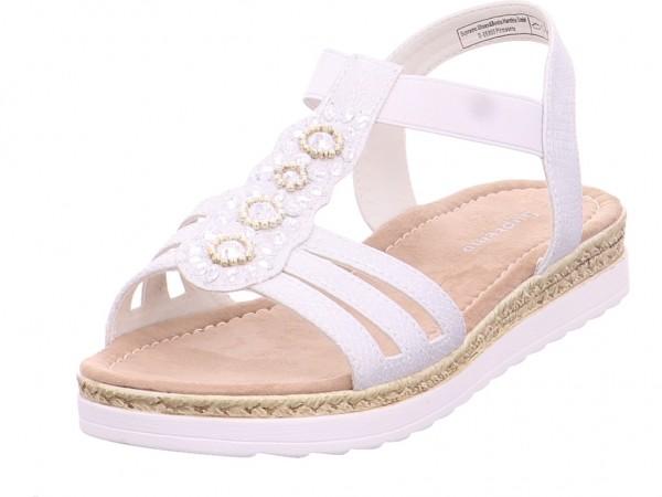 Pep Step Babys Sandale Sandalette Sommerschuhe weiß 6927302