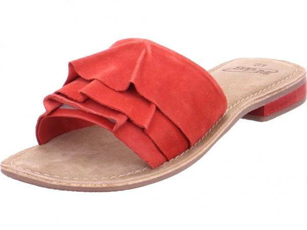 SPM NV Damen Pantolette Sandalen Hausschuhe Clogs Slipper rot 22158918-25-01001-03001
