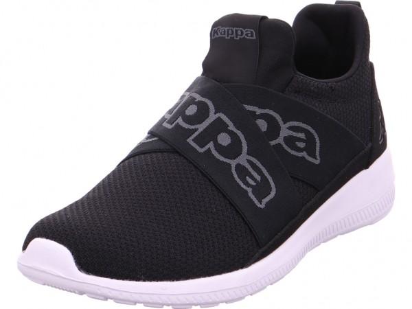 Kappa FASTER II Footwear u,black/gre Damen Sneaker schwarz 242302/1116