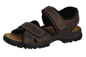 Rieker Herren Sandale Sandalette Trekking braun 2505127