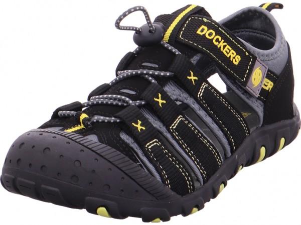 Dockers Jungen Sandale Sandalette Sommerschuhe schwarz 40TW601637120
