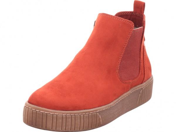 Marco Tozzi Da.-Stiefel Damen Stiefel Stiefelette Boots elegant rot 2-2-25454-35/518-518