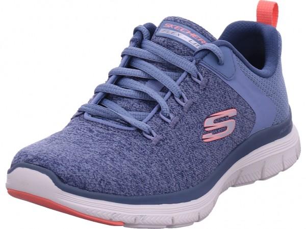 SKECHERS FLEX APPEAL 4.0 - BRILLIANT VI Damen Sneaker blau 149307 SLTP