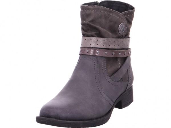 Jana Woms Boots Damen Stiefel Stiefelette Boots elegant grau 8-8-25465-21/206-206