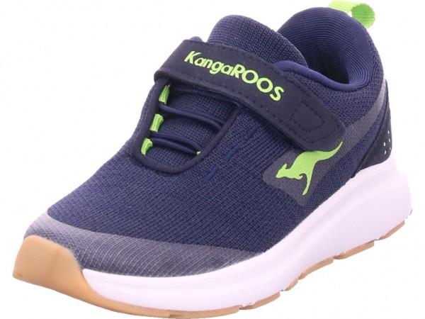 KangaRoos KB-Hook EV Jungen Sneaker blau 18508/4054-4054