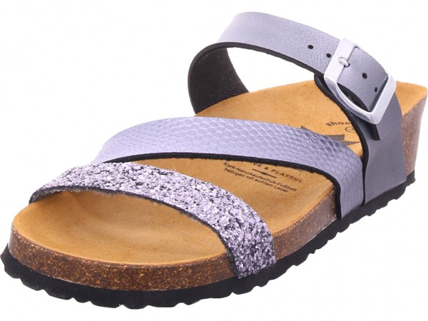 Lico NATURAL GLITTER Damen Pantolette Sandalen Hausschuhe Sonstige 560155