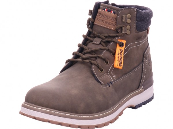 Dockers Herren Stiefel Schnürstiefel warm sportlich Boots grün 47BK801-630850