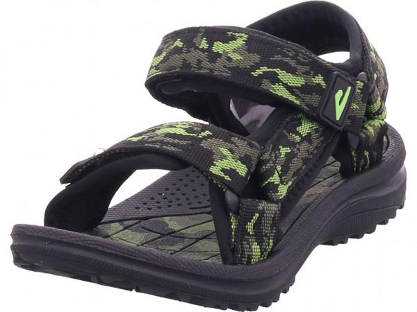 hengst Jungen Sandale Sandalette Sommerschuhe schwarz S20501