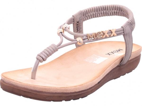 Mexx Gracelyn Damen Sandale Sandalette Sommerschuhe grau MXBN0043W