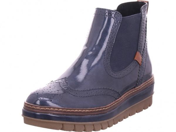 Tamaris Damen Winter Stiefel Boots Stiefelette warm zum schlüpfen blau 1-1-25448-23/892-892