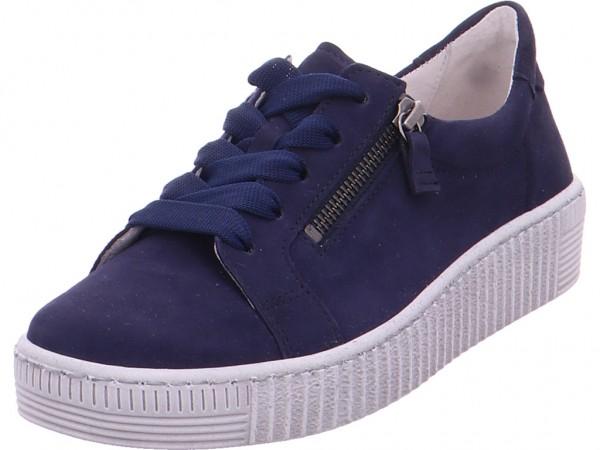 Gabor Damen Sneaker blau 43.334.16