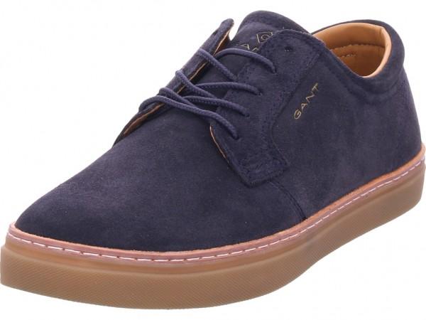 Gant Bari Low Herren Schnürschuh Halbschuh sportlich Sneaker blau 19633870