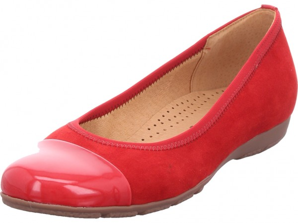 Gabor Damen Ballerina rot 34-161-45