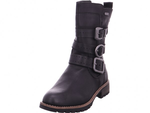 Jana Woms Boots Damen Stiefelette schwarz 8-8-26408-21/001-001