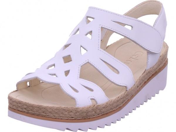 Gabor Damen Sandale Sandalette Sommerschuhe weiß 43.721.21