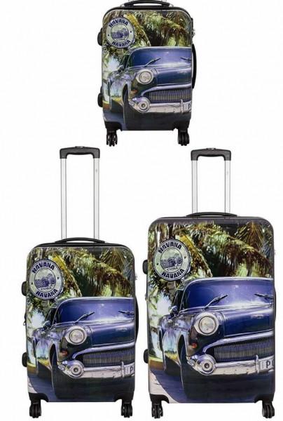 PM Euro- Trading GmbH Poly- ABS Kofferset 3TLG Unisex - Erwachsene Tasche Sonstige 36912