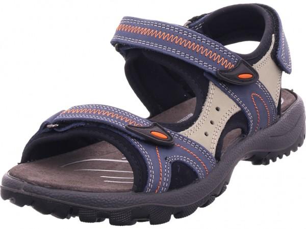 Rohde Damen Sandale Sandalette Sommerschuhe blau 5686/56