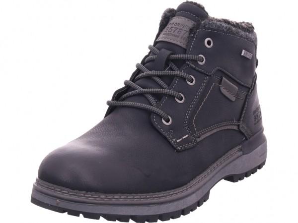 Pep Step Herren Stiefel Schnürstiefel warm sportlich Boots schwarz 7912301