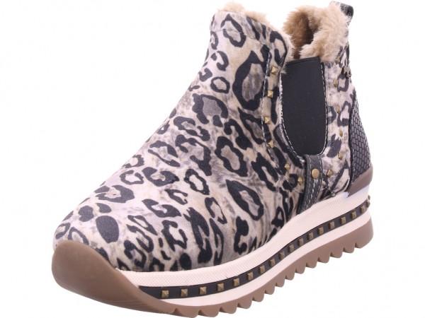 Mustang Damen Winter Stiefel Boots Stiefelette warm zum schlüpfen beige 1347401-4