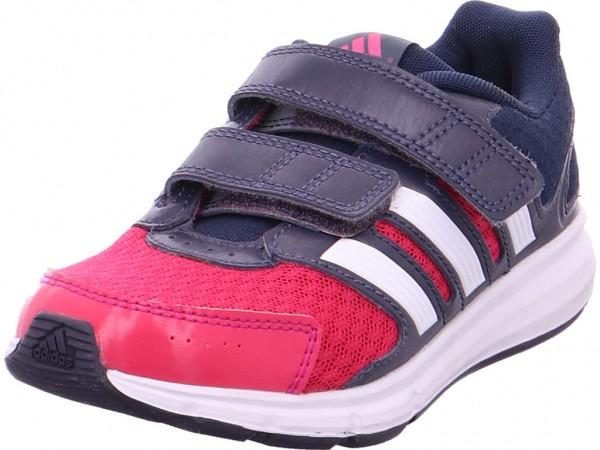 Adidas Training Kinder Mädchen Sneaker rot B23857-BOPINK/FTWWHT/MIDGRE