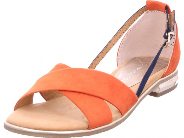 Marco Tozzi Damen Sandale Sandalette Sommerschuhe rot 22-28160-34-626