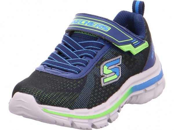 Bild 1 - SKECHERS Jungen Sneaker blau 95342