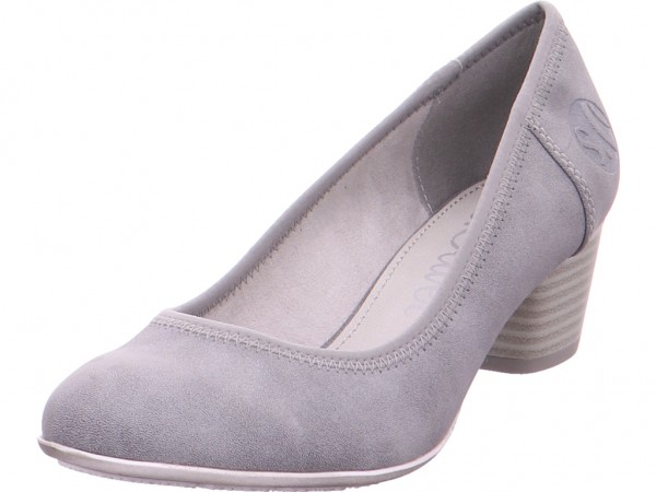 s.Oliver Woms Court Shoe Damen Pump grau 5-5-22301-22/207-207