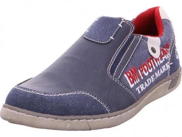 Pep Step Herren Schnürschuh Halbschuh sportlich Sneaker blau 9610902