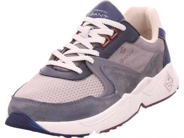 outlet store 36225 f22c7 Gant Portland Sneaker Herren Schnürschuh Halbschuh sportlich Sneaker grau  19634857
