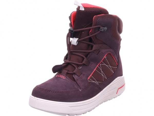 ecco Urban Snowboarder FigTeaberry Mädchen Moonboots rot 722313-51641