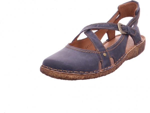 Seibel ROSALIE 13 Damen Sandale Sandalette Sommerschuhe blau 7951395/530